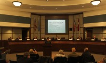 Candidates at the City Hall of Norman on Feb. 03 provided by Olivier REY _ Red Dirt Report